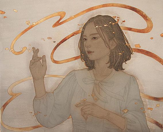 《春風のストローク》八木 恵子
